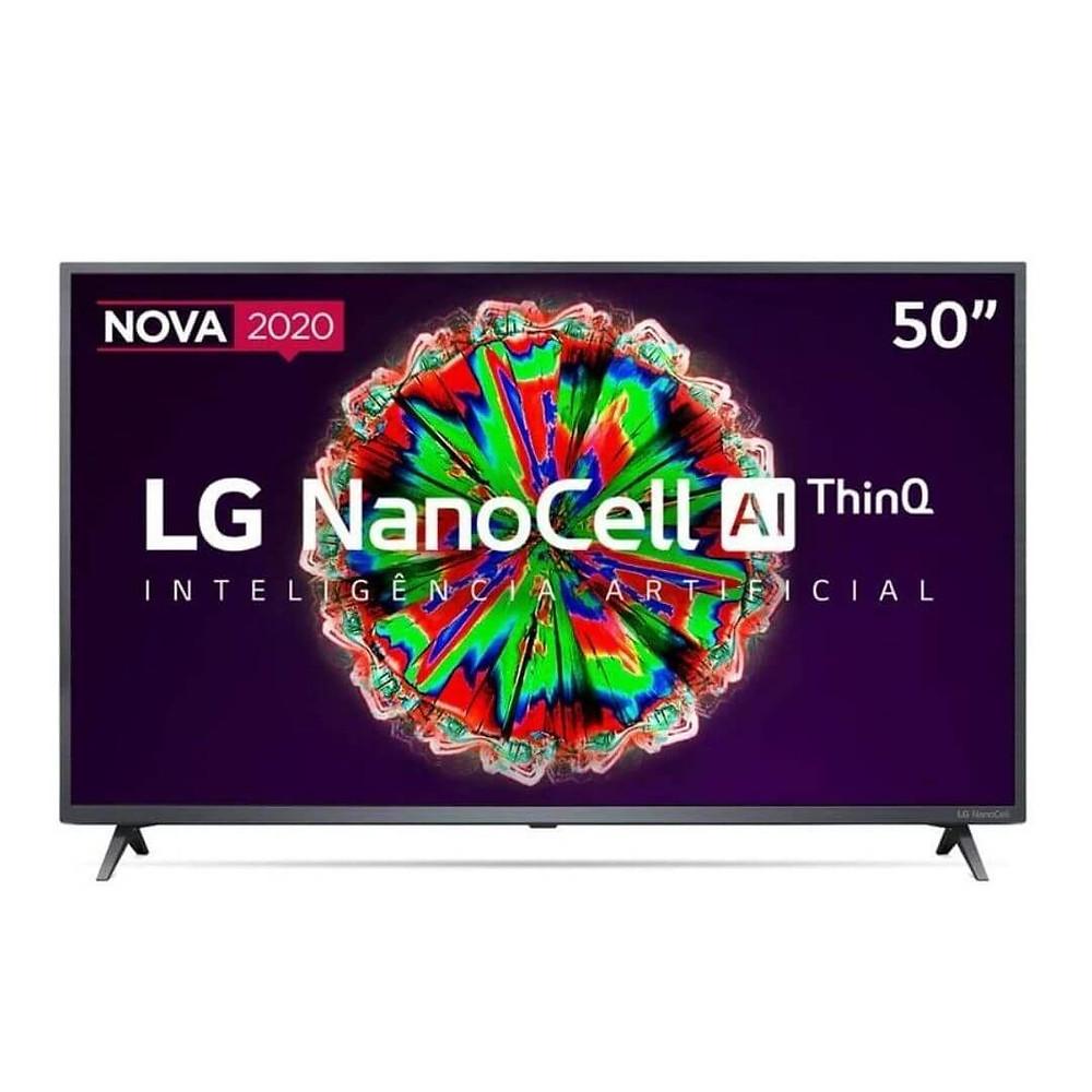 "Smart TV LG 50"" 4K NanoCell presente para o pai conectado"