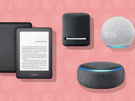 Dia das Mães 2021: Descontos de até R$ 200 em Dispositivos Amazon