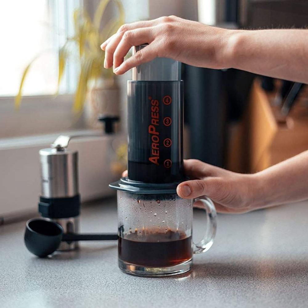Suporte Para Filtrar Café, Cinza Transparente, Aeropress
