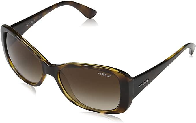 óculos de sol feminino lente degradê Vogue
