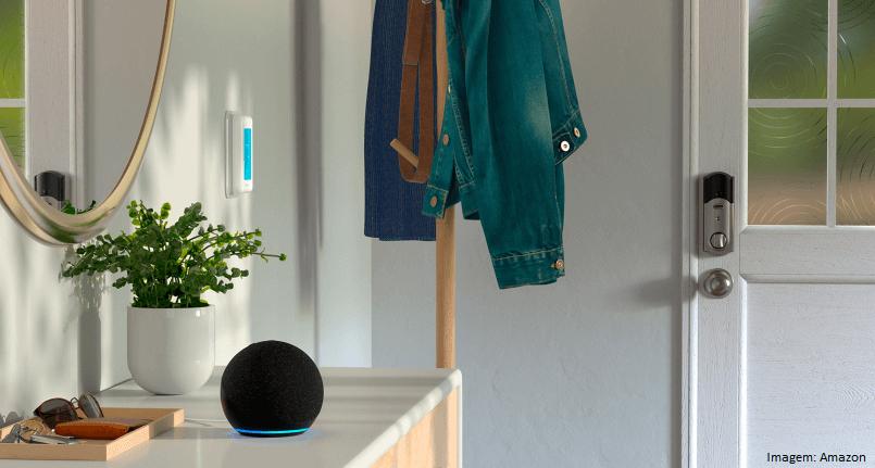Novo Echo Dot (4ª Geração): Smart Speaker com Alexa