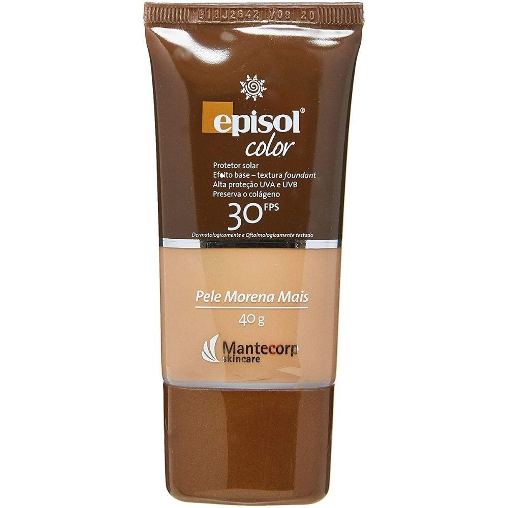 protetor solar pele morena episol fps 30