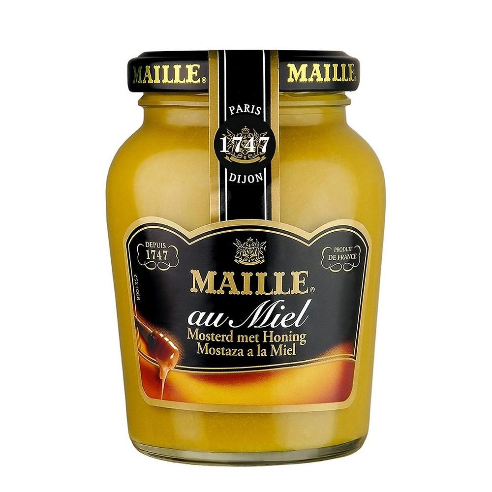 Mostarda francesa com mel de presente até R$ 50