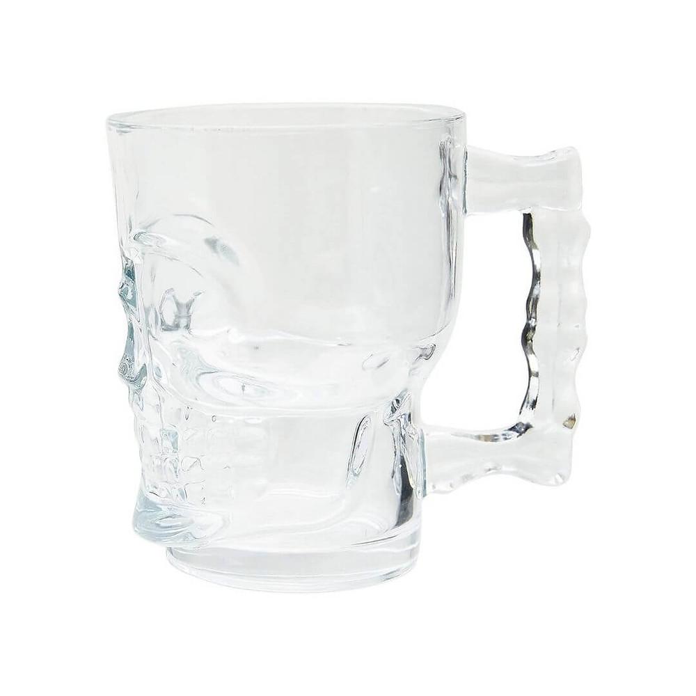 Caneca para Chopp e Cerveja de Vidro Caveira mais vendidos Prime Day 2021