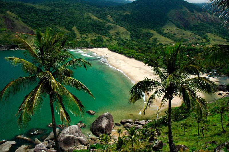 Praia do Bonete em Ilhabela