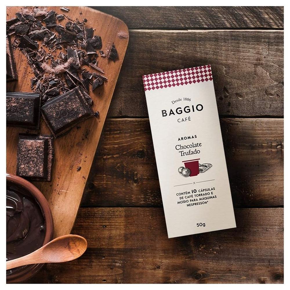 Cápsulas de Café Aroma Chocolate Trufado de presente até R$ 50