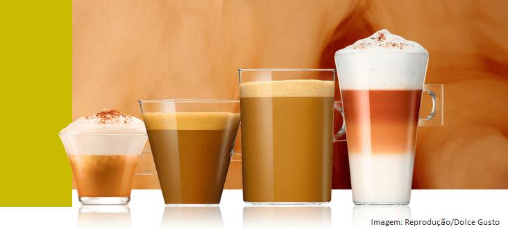 Xícaras de Café Expresso Dolce Gusto