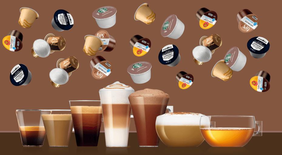 Cápsulas de Café para Cafeteira Expresso