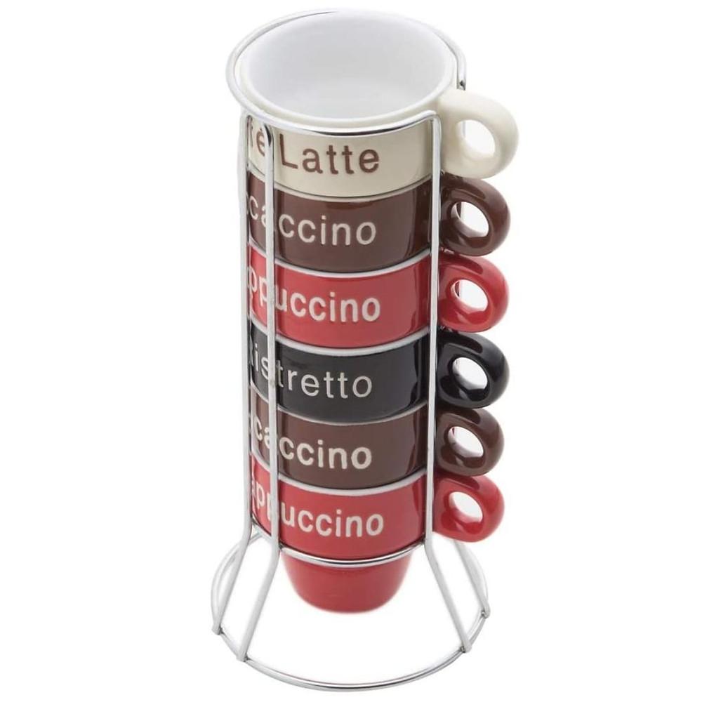 conjunto de 6 xícaras para café