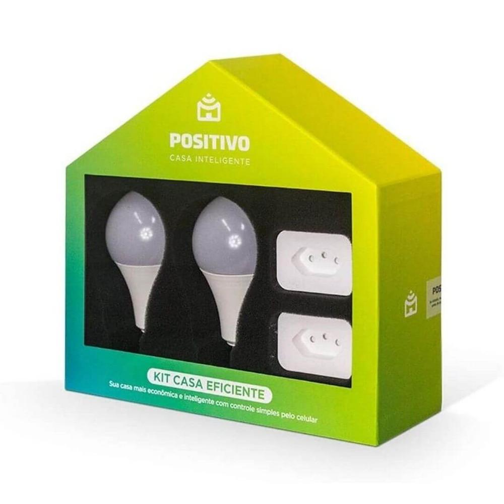 Kit Casa Eficiente Positivo Casa Inteligente de presente de Dia dos Pais