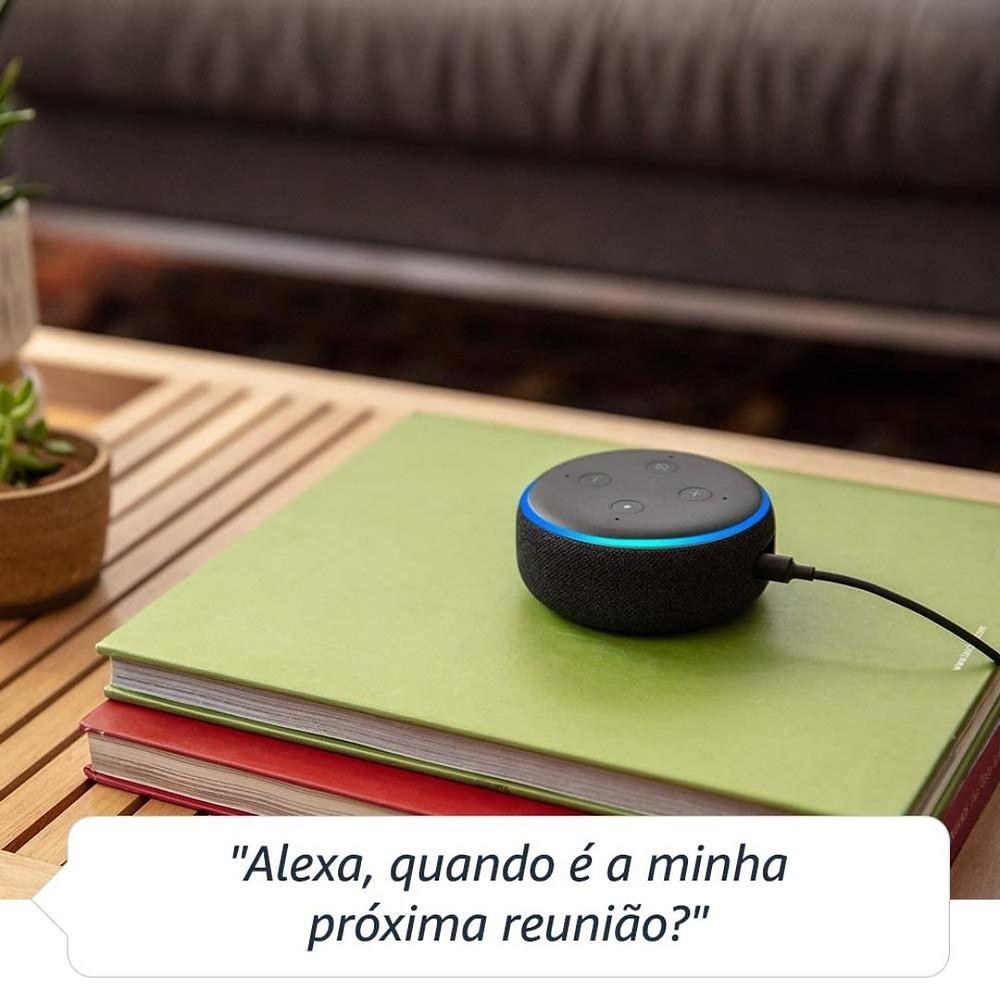 Echo Dot de presente para namorado tecnológico