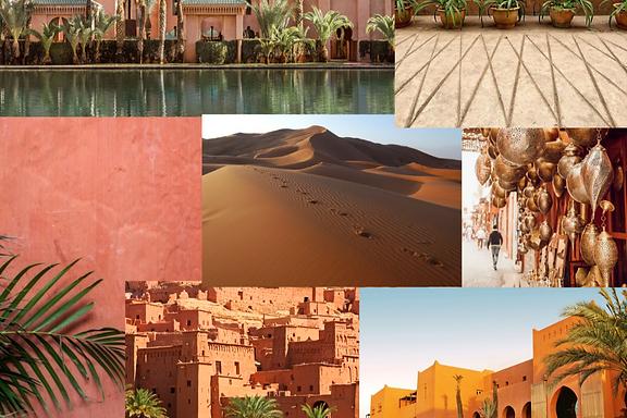 Mood estampa Marrakesh Salgar Moda Praia