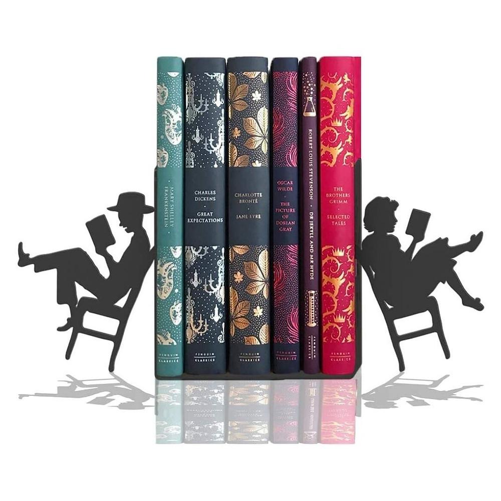 Suporte para livros de presente para amiga leitora