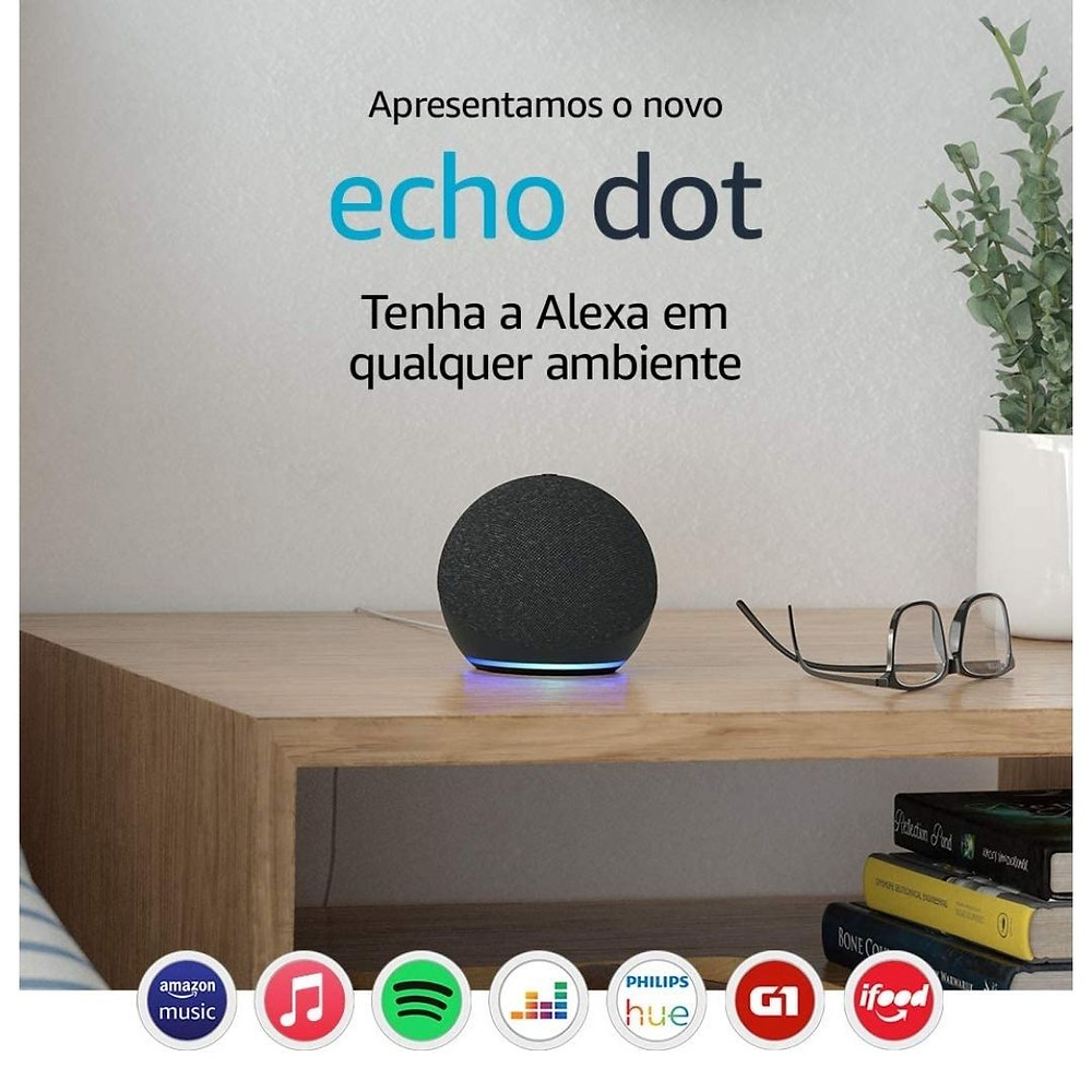 echo dot oferta semana do consumidor