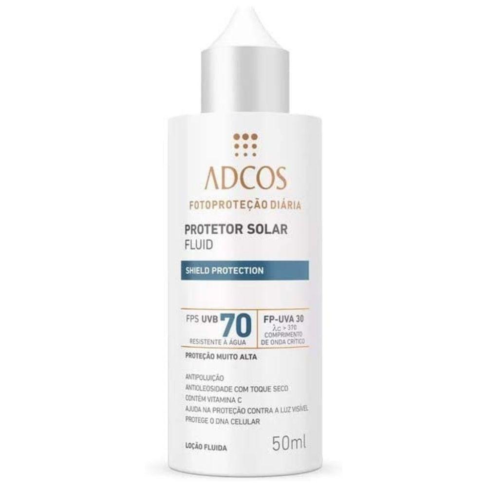 Adcos Fotoproteção Filtro Solar Fluid FSP70 Incolor