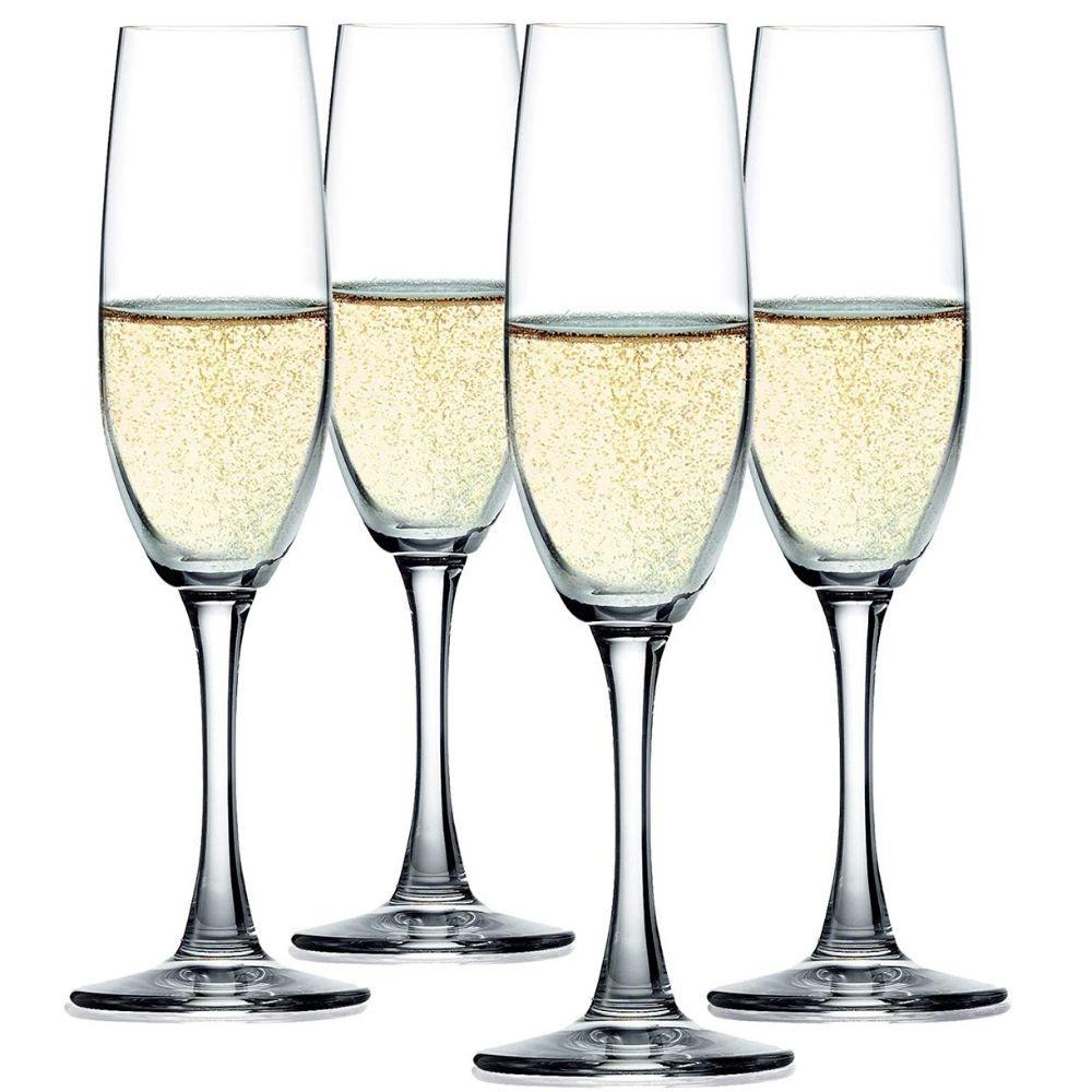 Jogo de Taças para Champanhe em Cristal Spiegelau Winelovers 190 ml - 4 peças