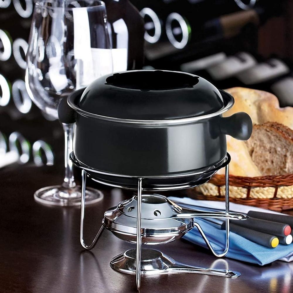 Conjunto para fondue de presente