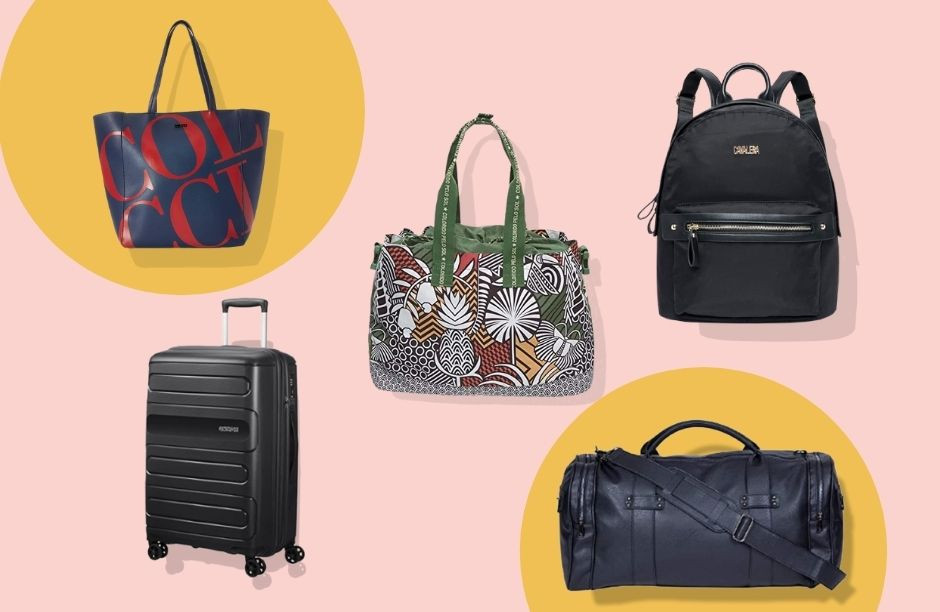Malas, bolsas e mochilas na Semana do Consumidor