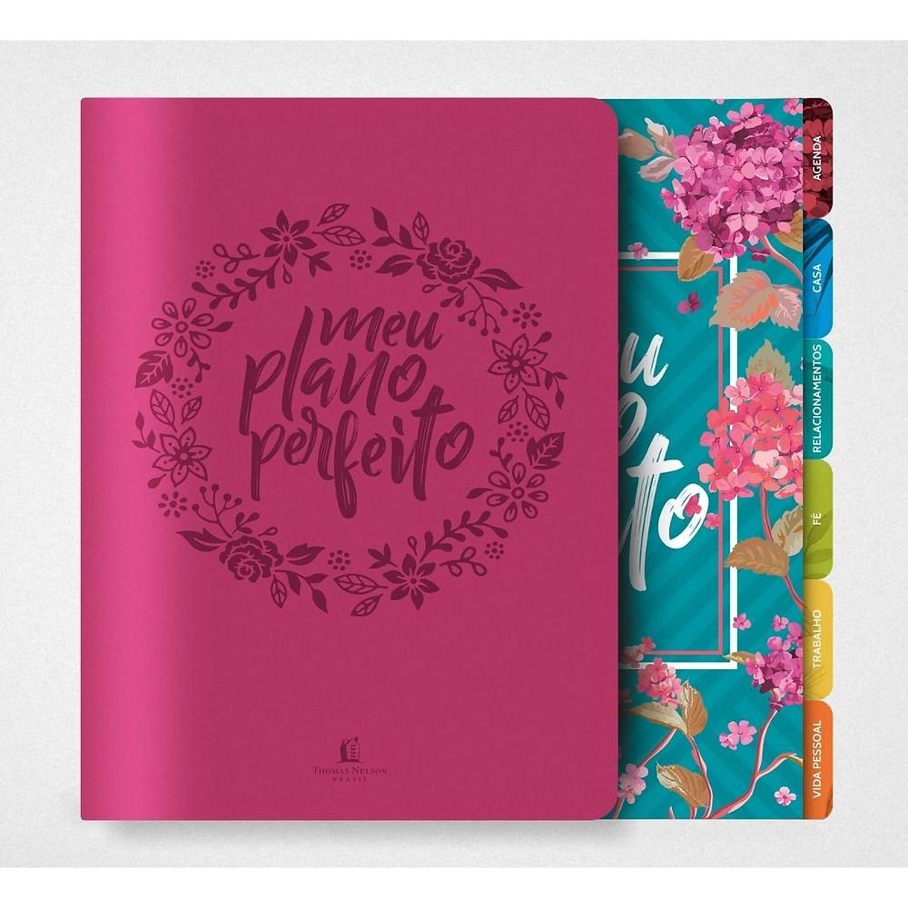 Planejador diário feminino de presente para mulher