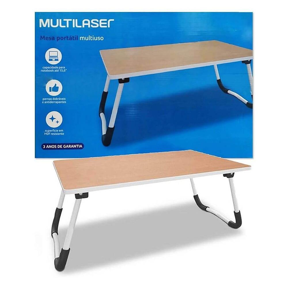 Mesa Multilaser Portátil Multiuso Ideal Para Notebook oferta prime day