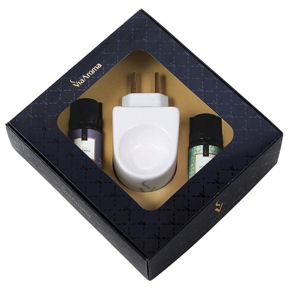 Kit Aromatizador de Ambiente de presente para amiga que adora banho relaxante