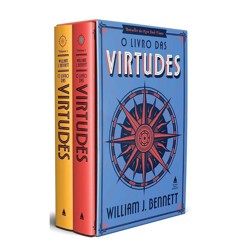 Box O Livro das Virtudes para presentear e colecionar
