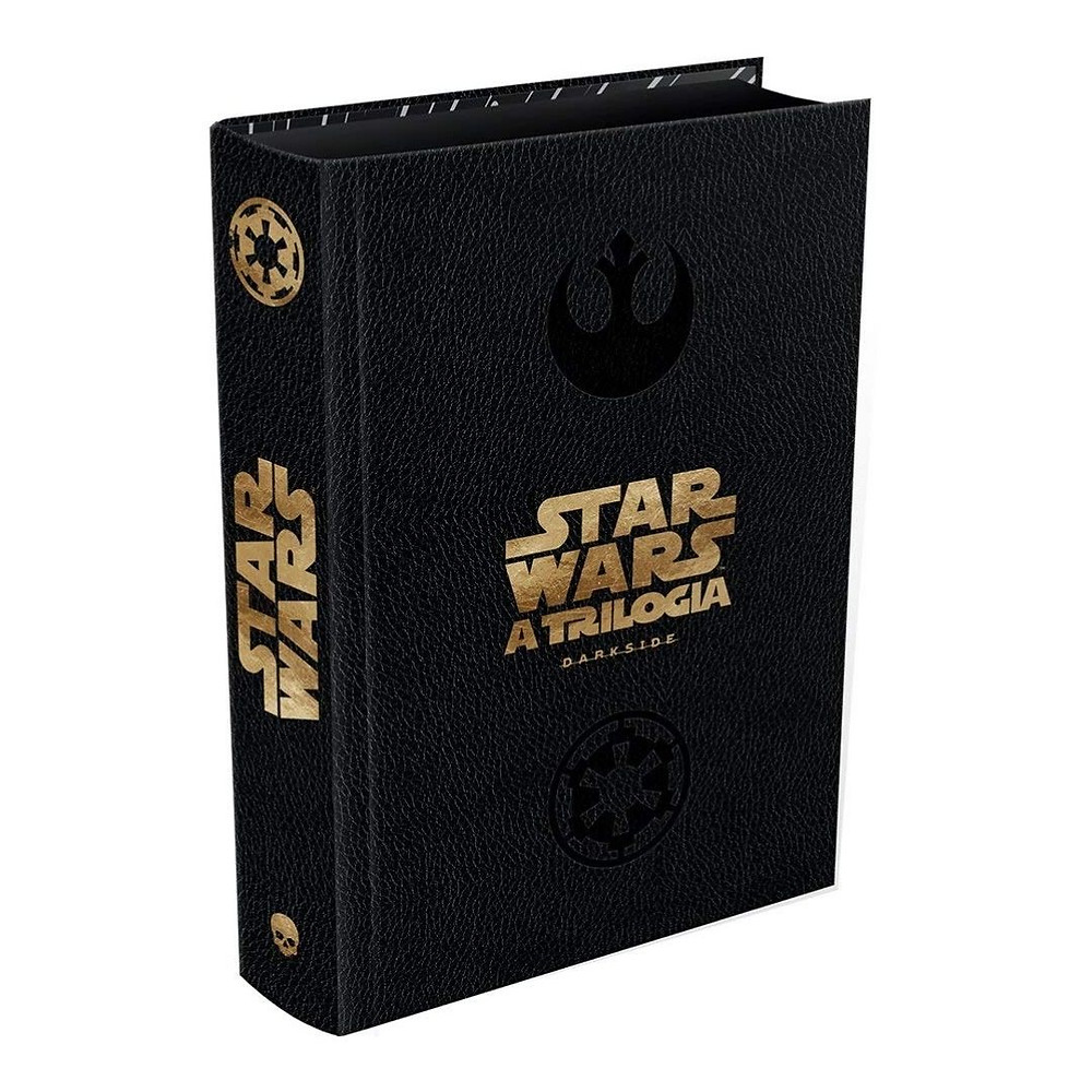 Livro Star Wars de presente para namorado geek
