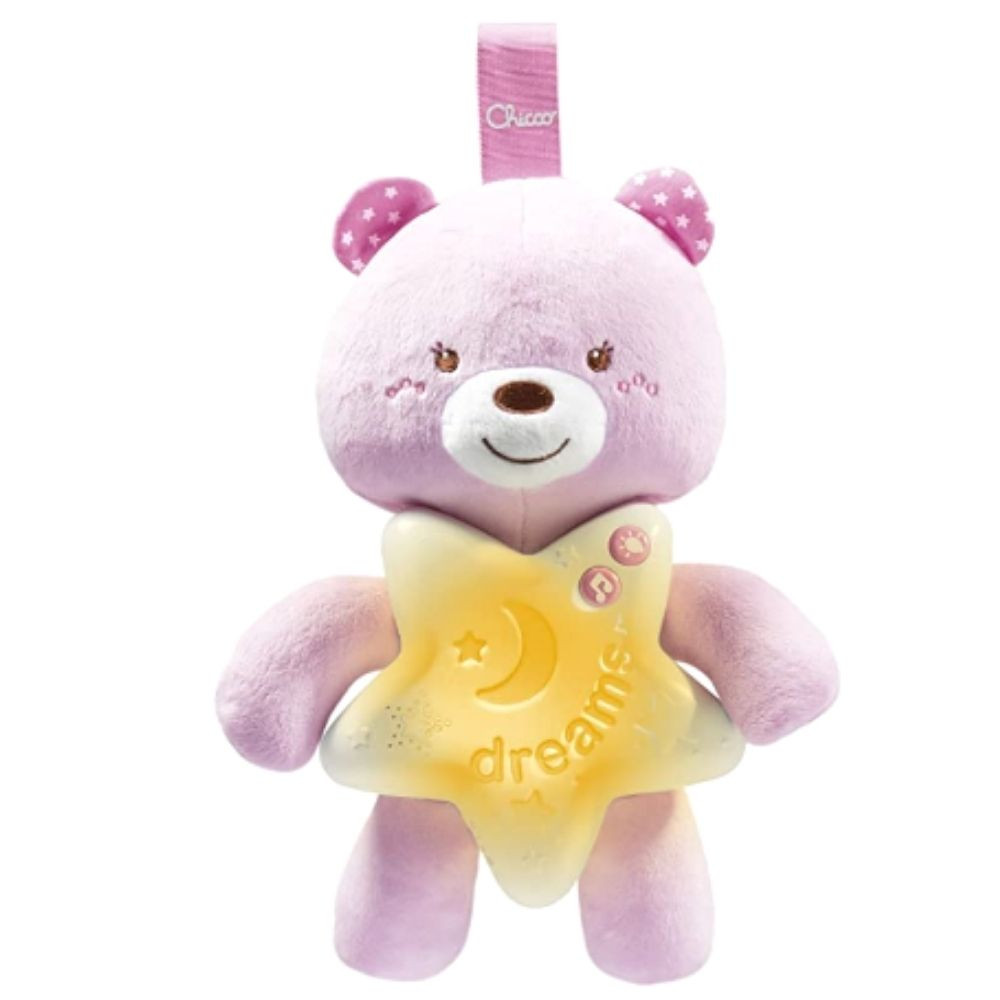Ursinho Bons Sonhos Chicco rosa