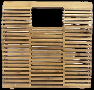 bolsa de madeira Studio Sapê