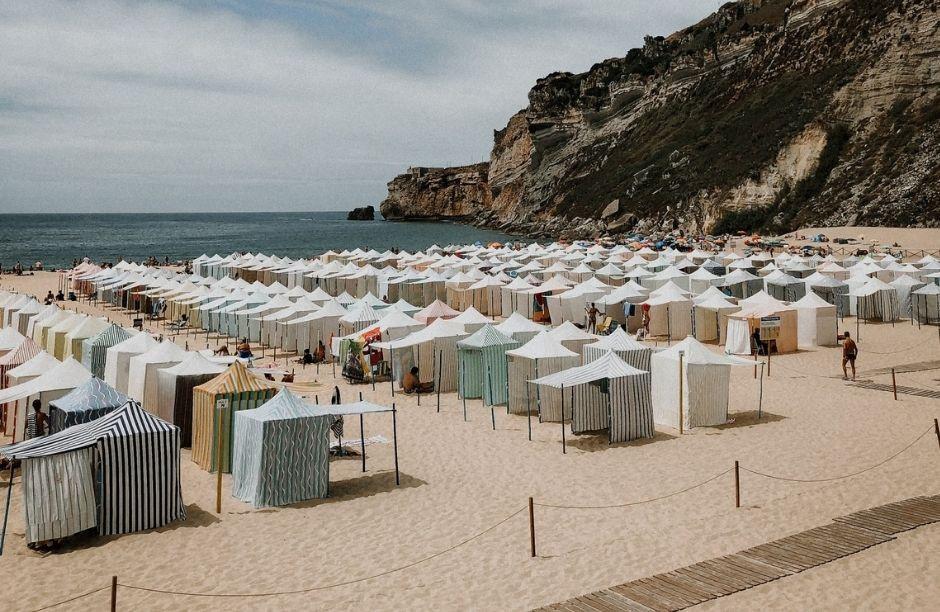 Tipos de tendas de praia