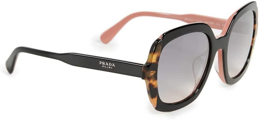 óculos de sol feminino grande Prada