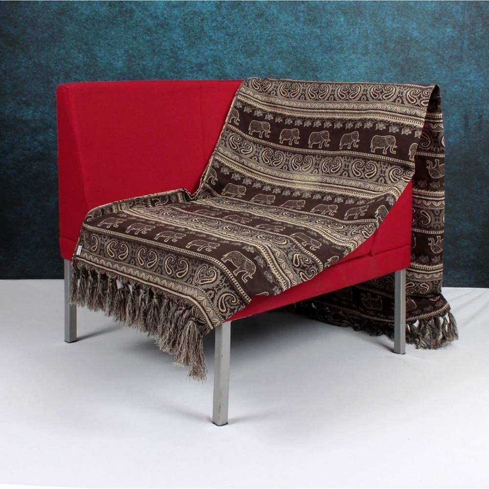Manta decorativa para sofá de presente para amiga que gosta de decoração