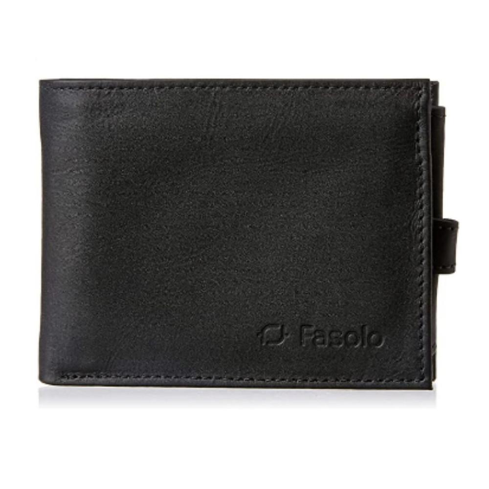 carteira masculina Fasolo  de presente até R$100