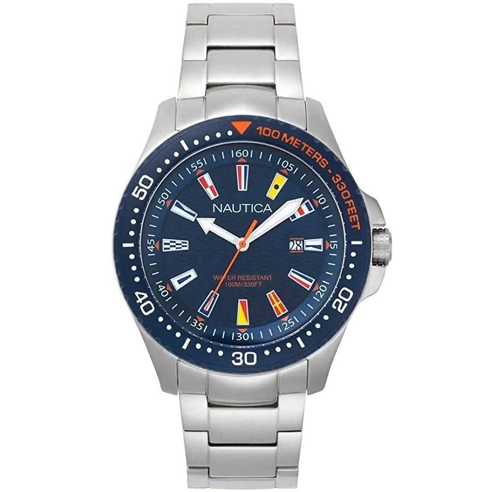 Relógio Masculino Aço Nautica
