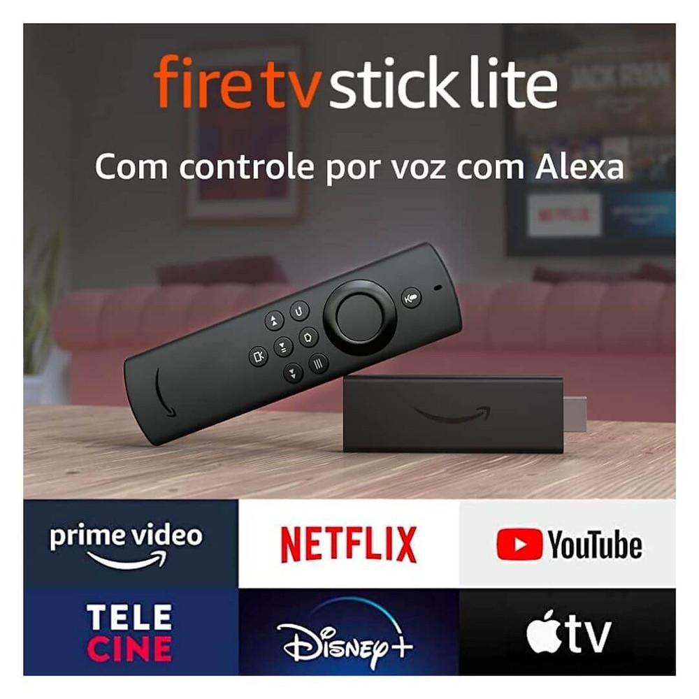 Fire TV Stick Lite mais vendidos prime day 2021