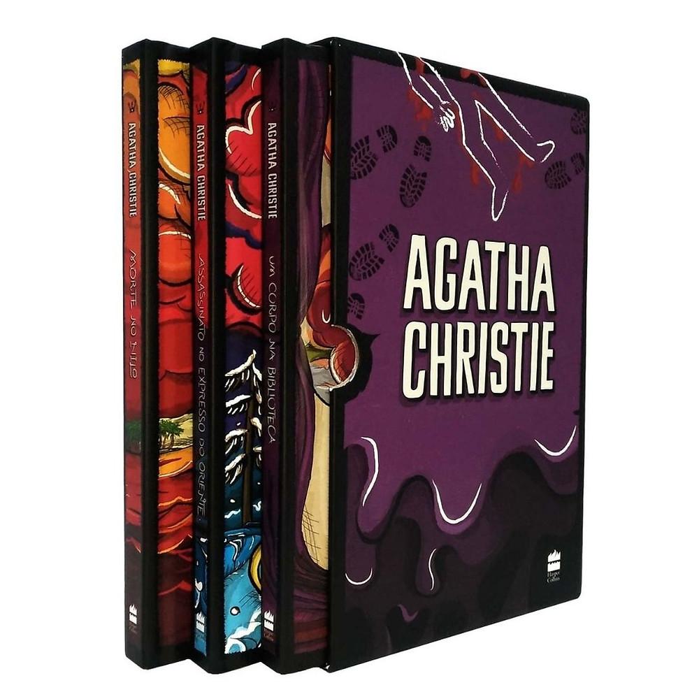 Box 1 Coleção Agatha Christie para presentear e colecionar