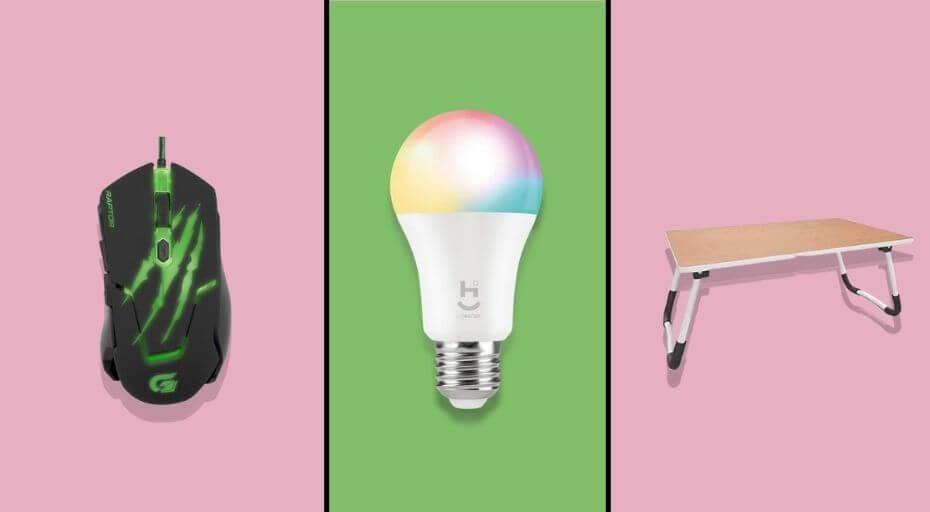 Ofertas de Lâmpadas Inteligentes, Acessórios de PC e Muito Mais no Amazon Prime Day