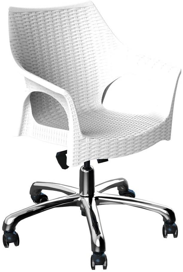 cadeira de propileno branca Relic