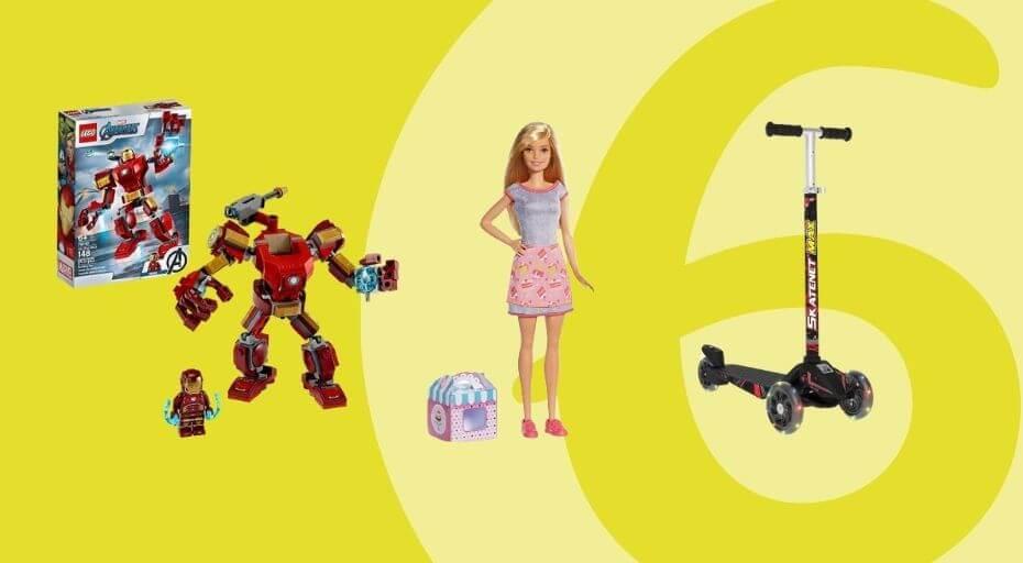 Presentes para Crianças de 6 anos