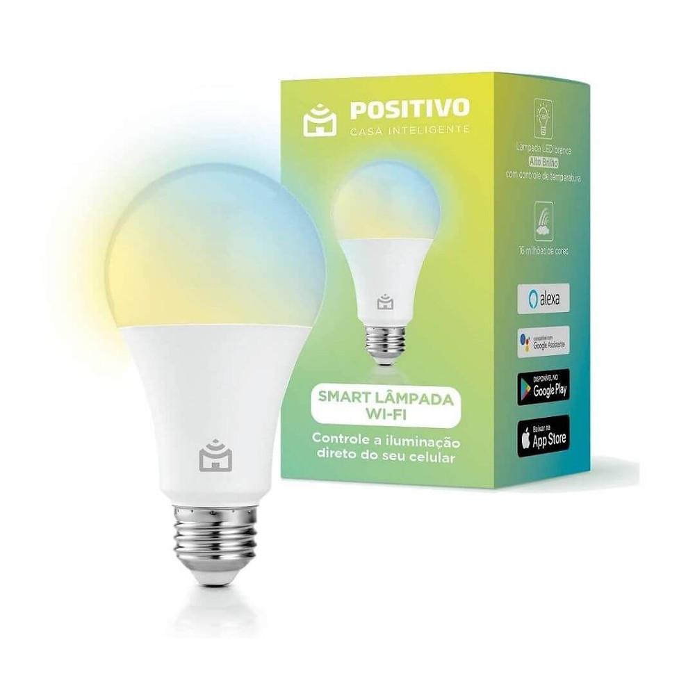 Smart Lâmpada Positivo Casa Inteligente mais vendidos Prime Day 2021