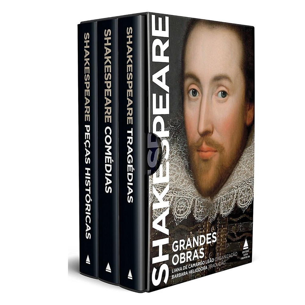 Box Grandes Obras de Shakespeare para presentear e colecionar