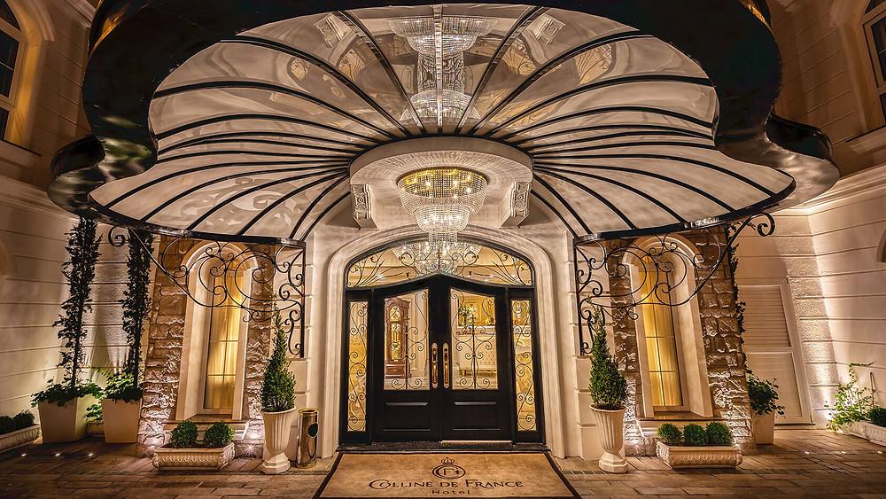 Área de entrada Hotel Colline de France