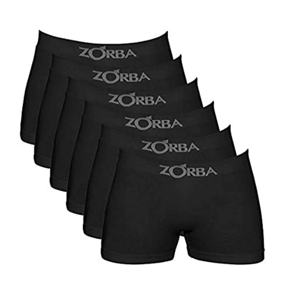 Kit 6 Cuecas Sem Costura, Zorba mais vendidos Prime Day 2021