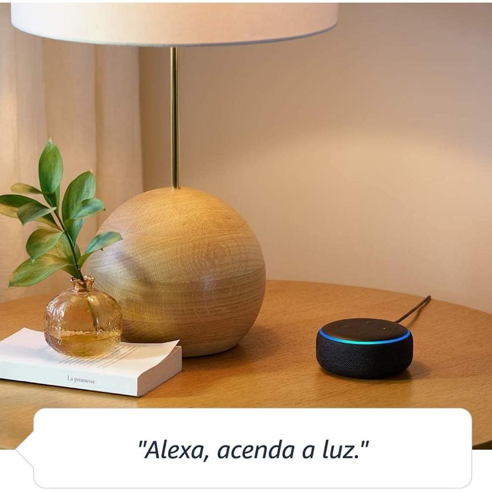 Echo Dot (3ª Geração): Smart Speaker com Alexa com desconto para Dia das Mães