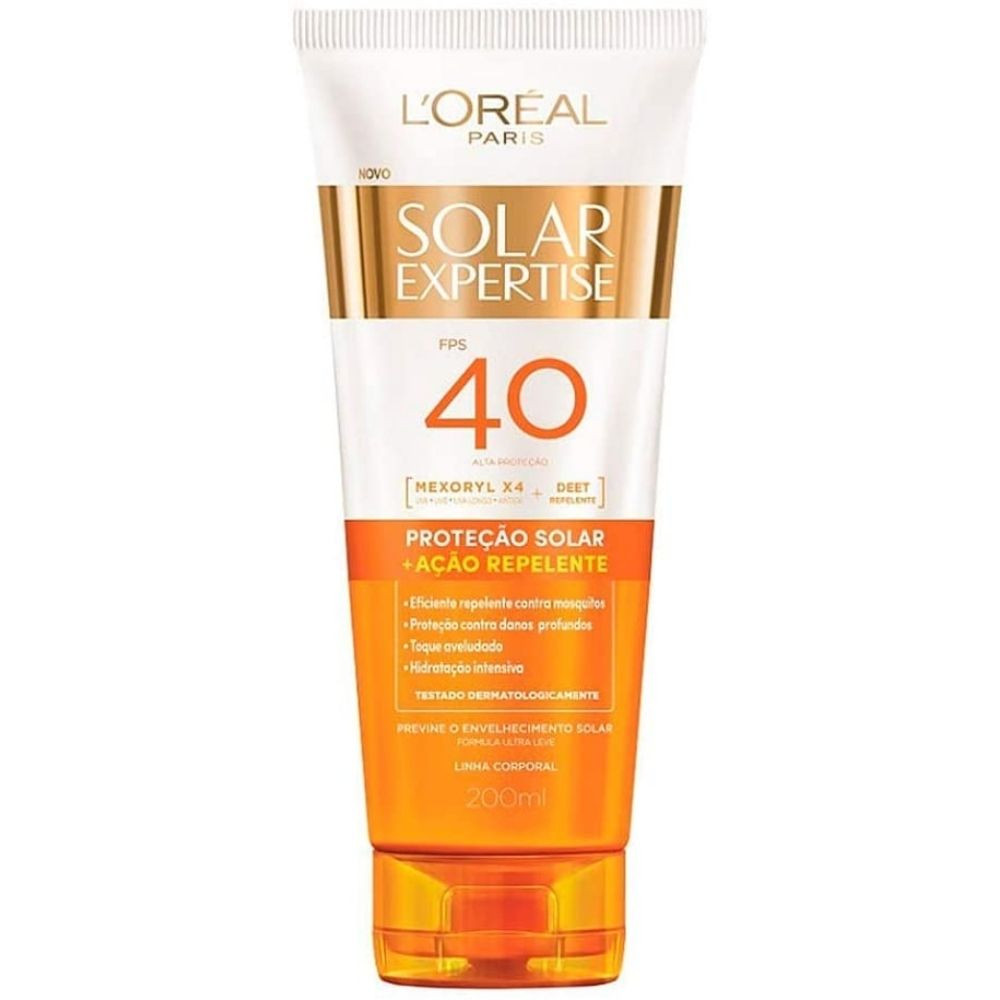 protetor solar expertise repelente l'oréal