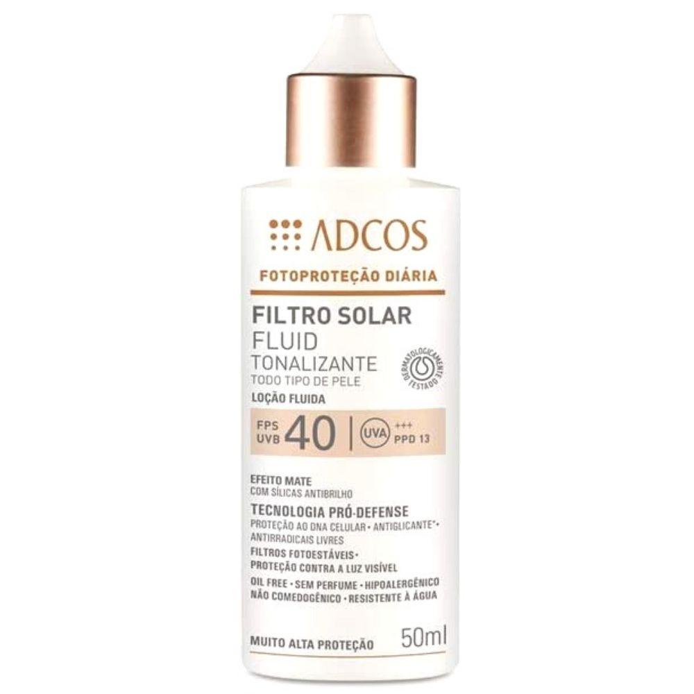 Adcos Filtro Solar Fluid Tonalizante FPS40 Beige
