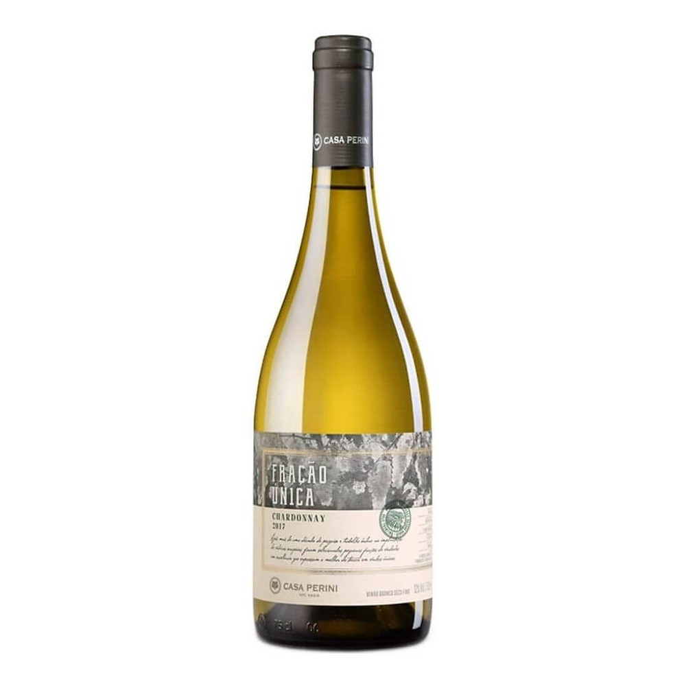 Vinho Branco Seco Fração Única Chardonnay Casa Perini