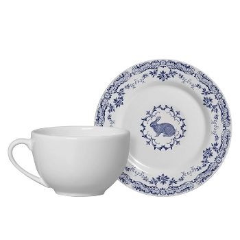 Conjunto de xícaras de chá de Páscoa