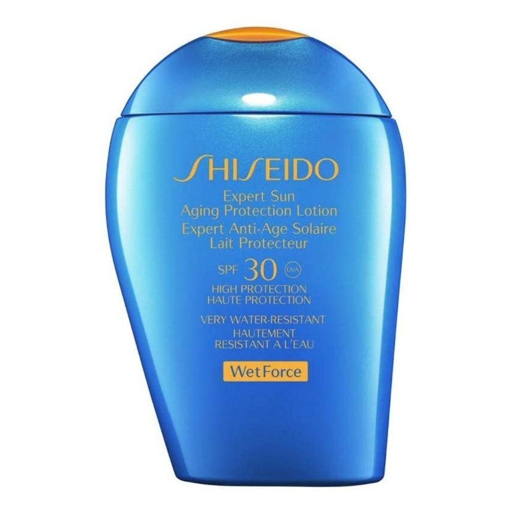 protetor solar shiseido expert sun fps 30