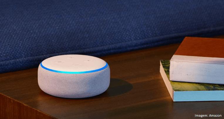 Echo Dot (3ª Geração): Smart Speaker com Alexa modelo mais básico e menor preço